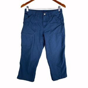 Outdoor Research Blue Cargo Capri pants size 4